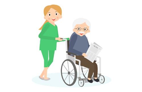 Anreise der neuen Pflegekraft